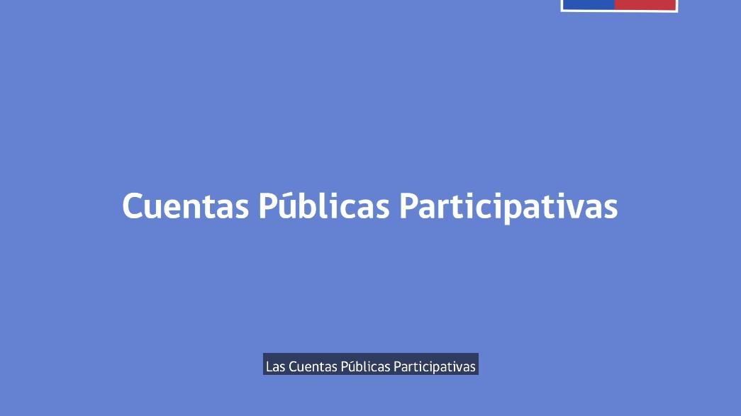 Que son las Cuentas Públicas Participativas