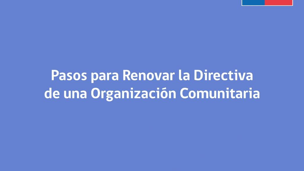 Como se constituyen las organizaciones comunitarias